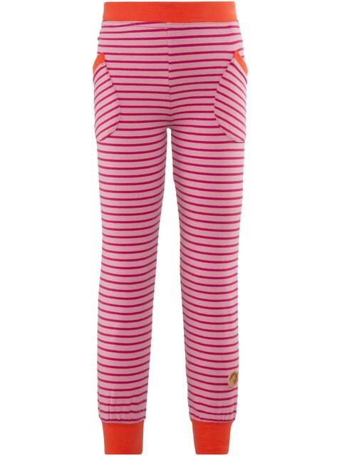 Finkid Huvi lange broek Kinderen roze/rood